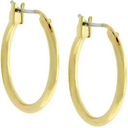 Simple Golden Hoops